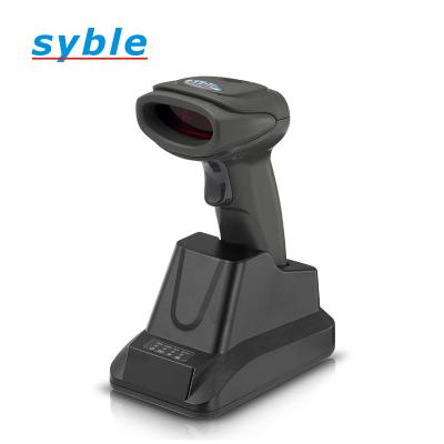 Wireless laser barcode scanner